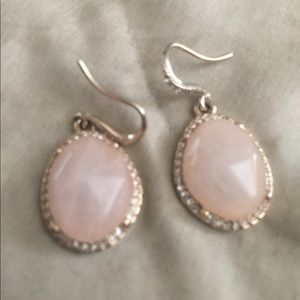 Chloe and Isabel pale pink earrings